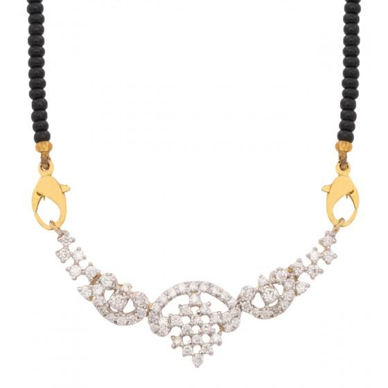 Wondrous Diamond Mangalsutra