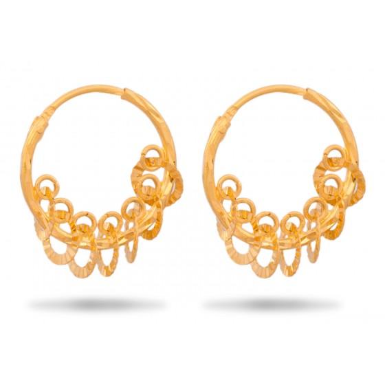 Elegant Gold Hoops