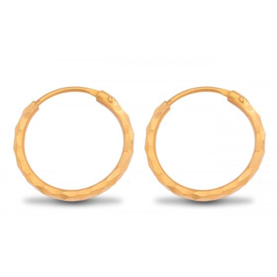 Eccentric Gold Hoops