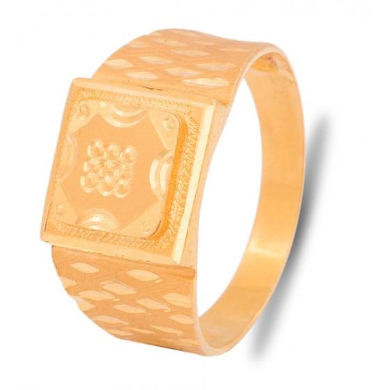 Gladdening Gold Ring For Men