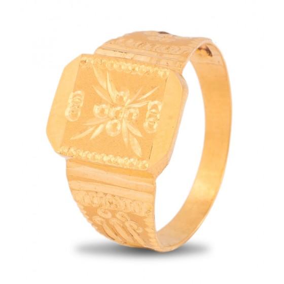 Sanguine Gold Ring For Men