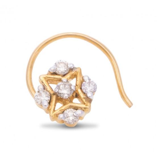 Magical Diamond Nose Pin