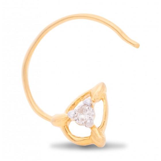Bountiful Diamond Nose Pin