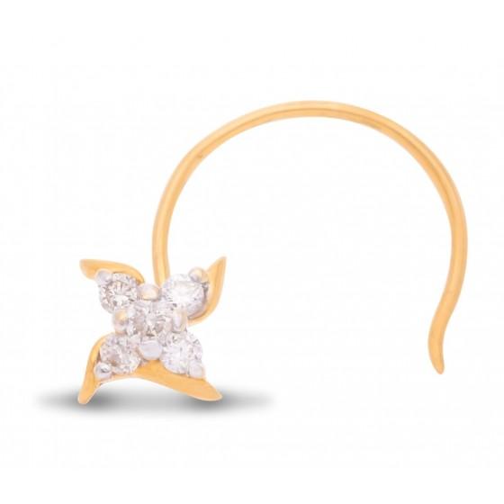 Magnanimous Diamond Nose Pin
