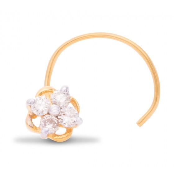 Sagacious Diamond Nose Pin