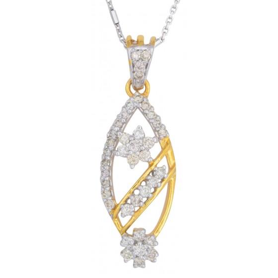 Lavish Affinity Diamond Pendant Set