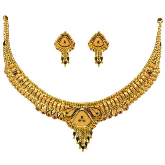 Rang Rangili Gold Necklace