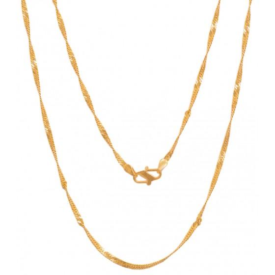 Scintillating Gold Chain