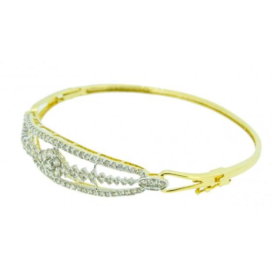 Silvery Bloom Bracelet