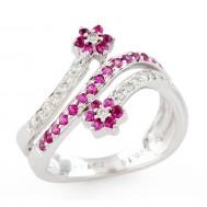 Bloom 'n' Blush Ring