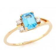 Blue Heaven Ring