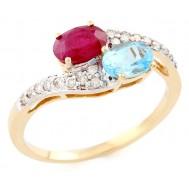 Dusky Bluebell Ring