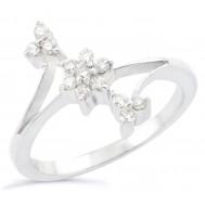 Twinkling Flower Ring