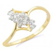 White Glow Ring