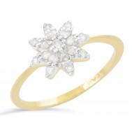 Floral Spark Ring