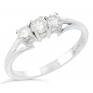 Dove Diamond Ring