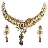 Shahi Darbar Antique Gold Set