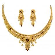 Shahi Savari Gold Necklace