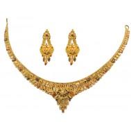 Cham-Chamkili Gold Necklace
