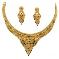 Kalbeliya Antique Gold Set
