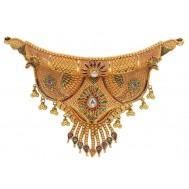 Solah Shringar Gold Set