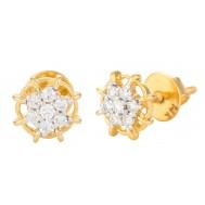 Cutesy Diamond Earrings