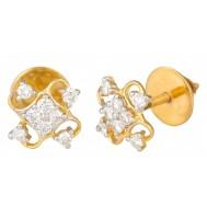 Heart Melting Diamond Earrings