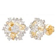 Statuesque Diamond Earrings