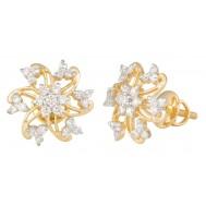 Beauty with Purity Diamond Earrings