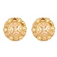 Minimalist Luxury Gold Studs