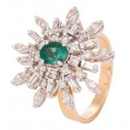 Emerald Shiner Ring