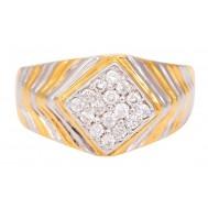 Devil-may-care Diamond Ring for Men