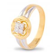 Quartet Diamond Ring for Men
