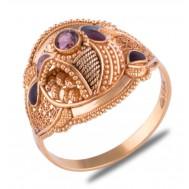 Dikshita Gold Ring