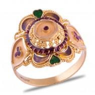 Paakhi Gold Ring