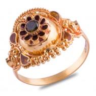 Nishka Gold Ring