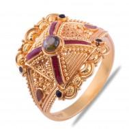 Dhruvika Gold Ring
