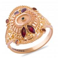 Chitrali Gold Ring