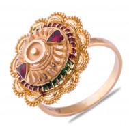 Ruhika Gold Ring