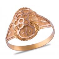 Ruhin Gold Ring
