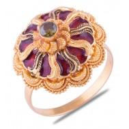 Ivaanka Gold Ring