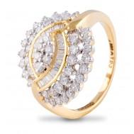 Heartfelt Radiance Diamond Ring