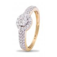 Centre Of Attraction Diamond Ring