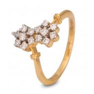 Spring Bloom Diamond Ring
