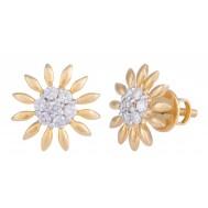 Blooming Star Earrings
