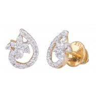 Entangled Star Earrings