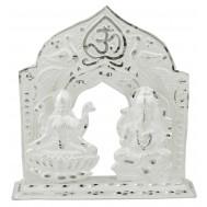 Silver Laxmi - Ganpati Idol