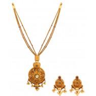 Hedonistic Gold Pendant Set