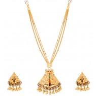 Indumukhi Gold Pendant Set