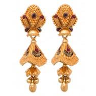 Bhanupriya Gold Jhumki